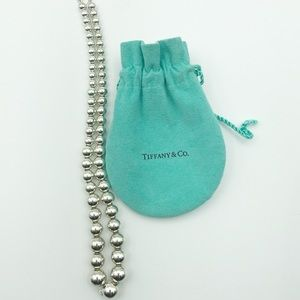 Tiffany & Co Graduating Bead Ball Necklace